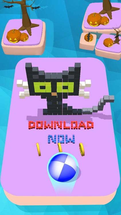 Monster vs Ball 3D screenshot-4