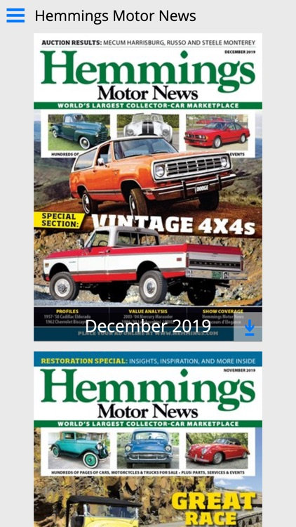 Hemmings Motor News screenshot-0