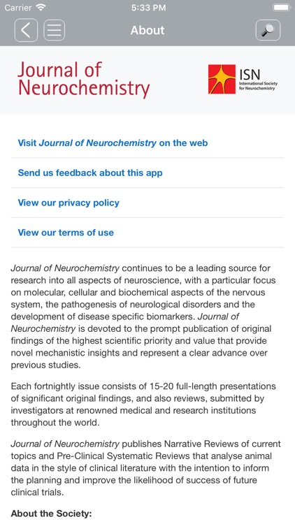 Journal of Neurochemistry screenshot-5