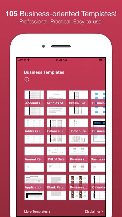 Business Templates for Pages screenshot-0