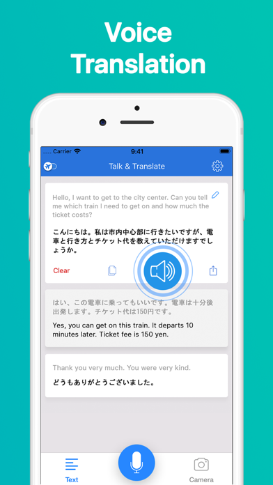 Talk & Translate Screenshot
