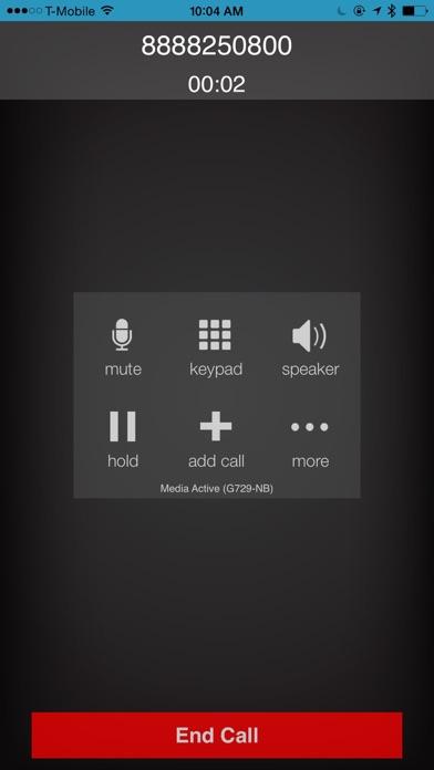 VirtualPBX SoftphoneScreenshot of 2