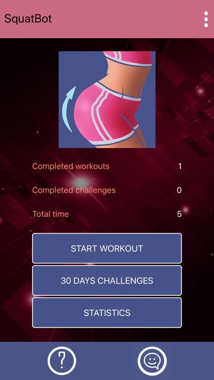Buttocks Workout - Squat Bot screenshot-3