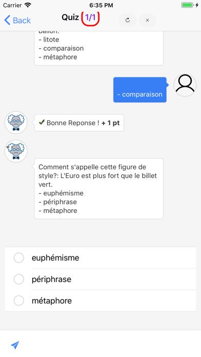 Français 5ème screenshot 3