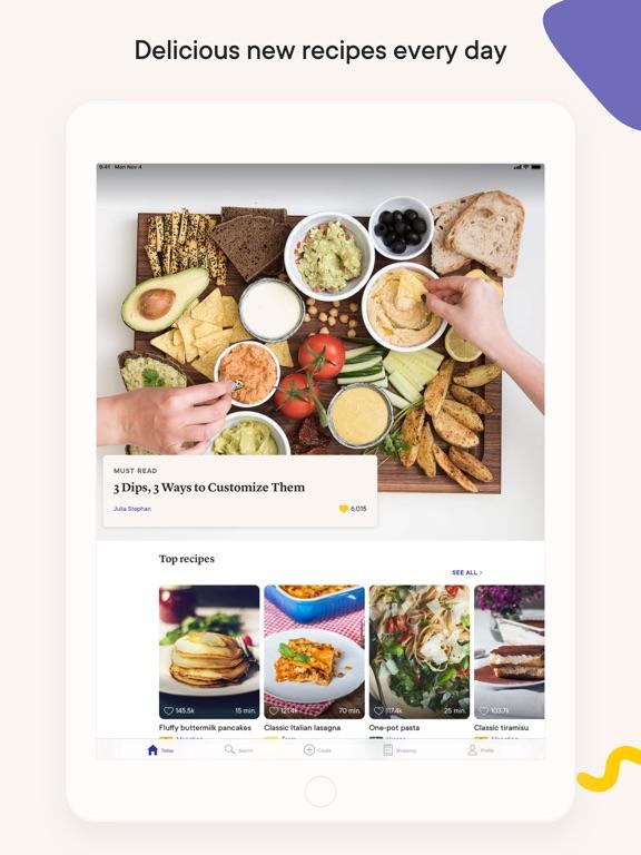 Kitchen Stories: tasty recipes iPad app afbeelding 1