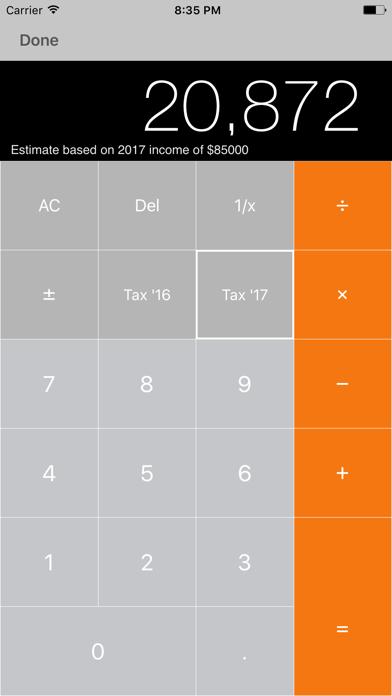 my Tax Calculator Australia screenshot four