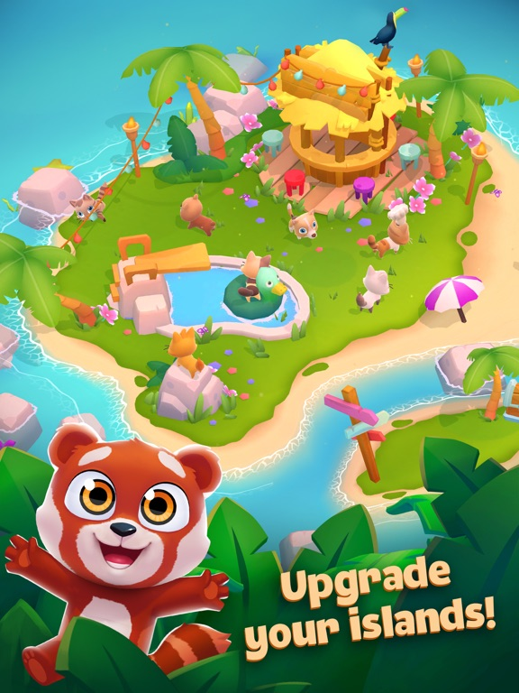 Pet Paradise: Bubble Pop Match screenshot 8