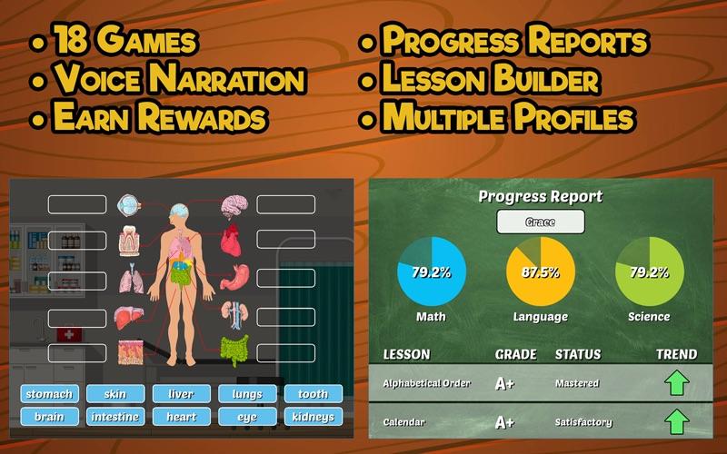 Second Grade Learning Games screenshot 5