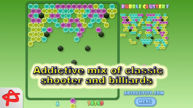 Bubble Clusterz Puzzle