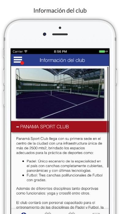 Panama Sport Club - PSC screenshot 1