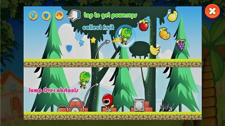 Smart Turtle Fruit Runing Game
