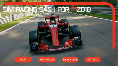 Sim Racing Dash for F1 2018 screenshot 2
