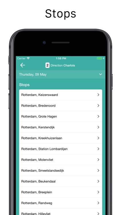 Rotterdam Transport Schedules screenshot-3