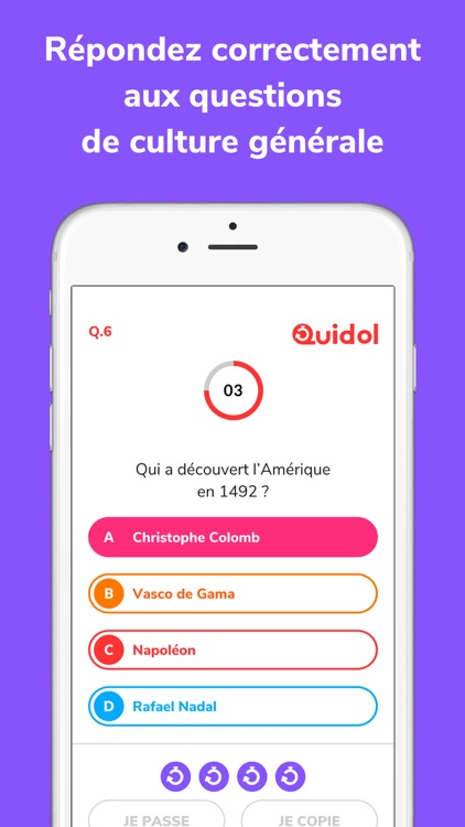 Quidol - Quiz Show en Direct