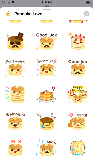 Pancake Love screenshot 3