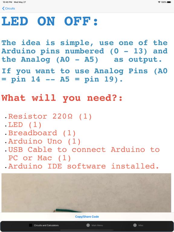 Screenshot #6 pour Electronics Circuit Calculator