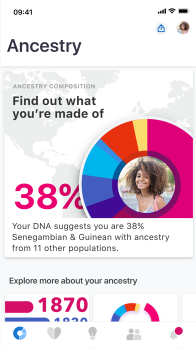 Screenshot #1 pour 23andMe - DNA Testing