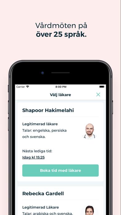 KRY – trygg vård i mobilen på PC
