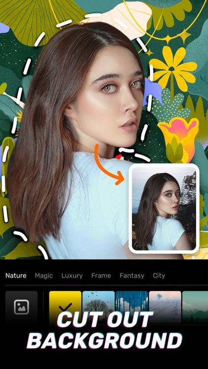 Amaze Camera-Cartoon Face App screenshot-3