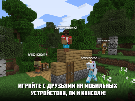 Minecraft ipad картинки