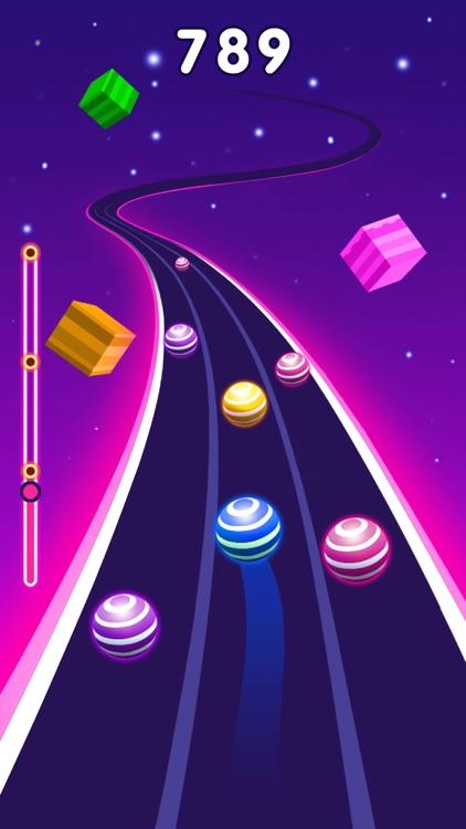 Color Ball Race-Music Game screenshot-3