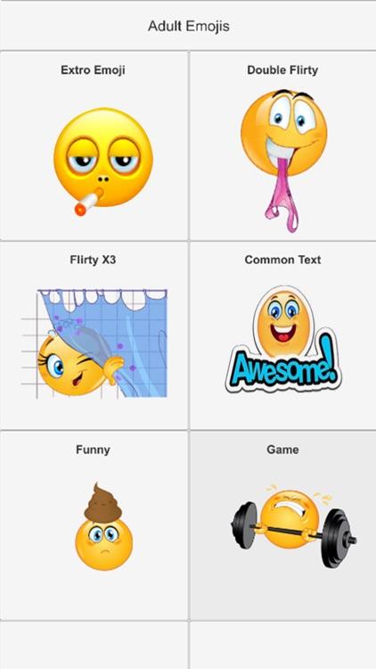 Adult Emojis Sexy Stickers