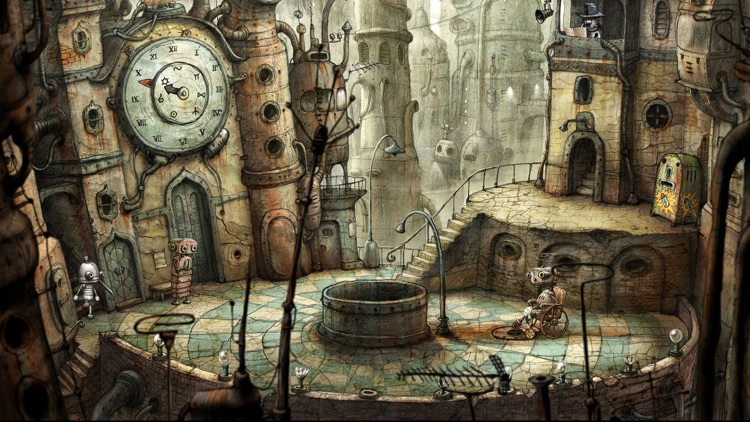 Machinarium screenshot-1
