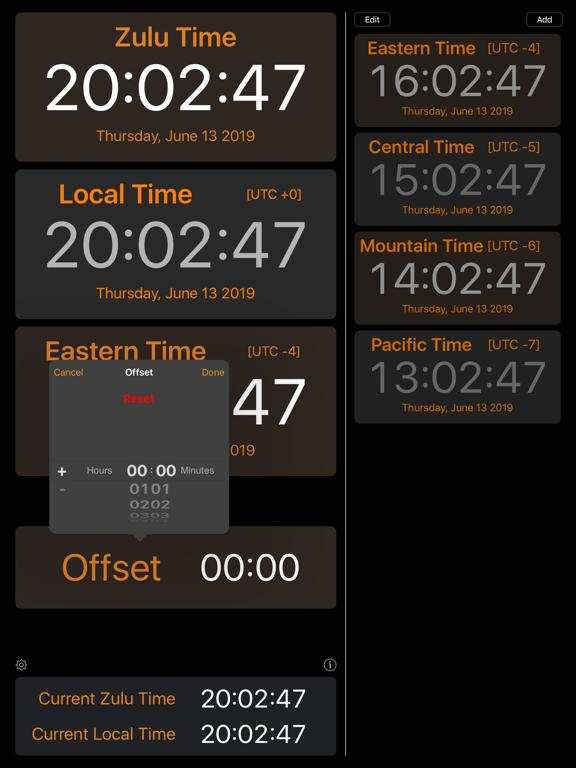 Zulu Time screenshot