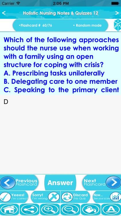 Holistic Nursing Exam Review