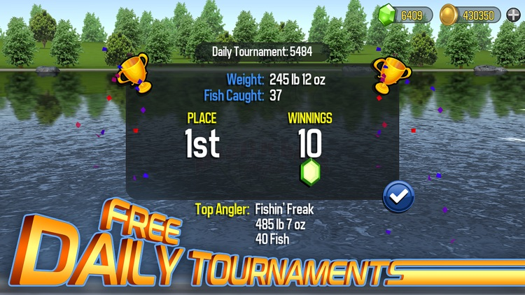 Master Bass Angler: Fishing screenshot-4