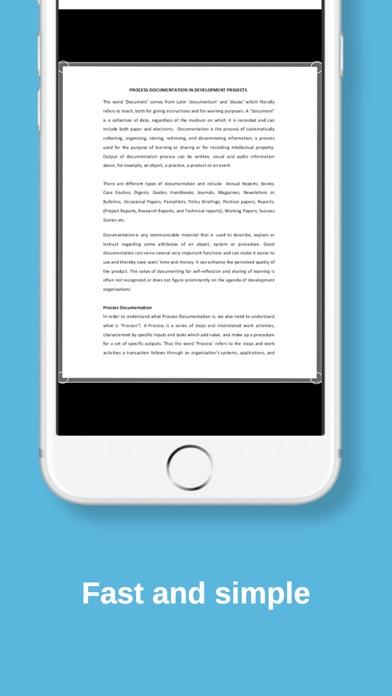 Screenshot of Scanner PDF e scanner per docu3