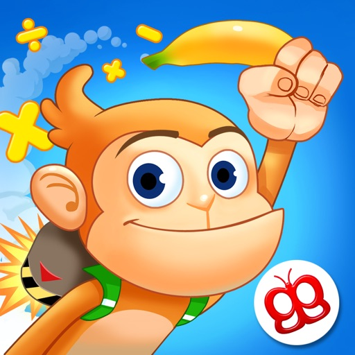Monkey Math - Jetpack for Kids