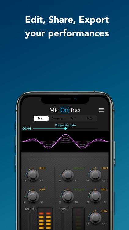 micOnTrax: Audio Midi Player screenshot-4