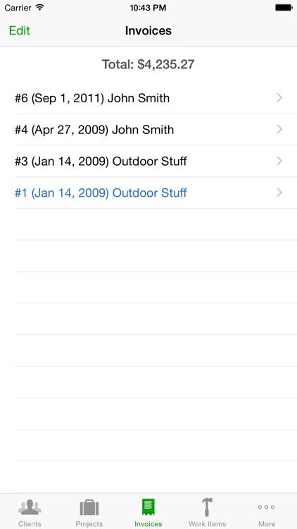 Timewerks: Mobile Billing screenshot-3