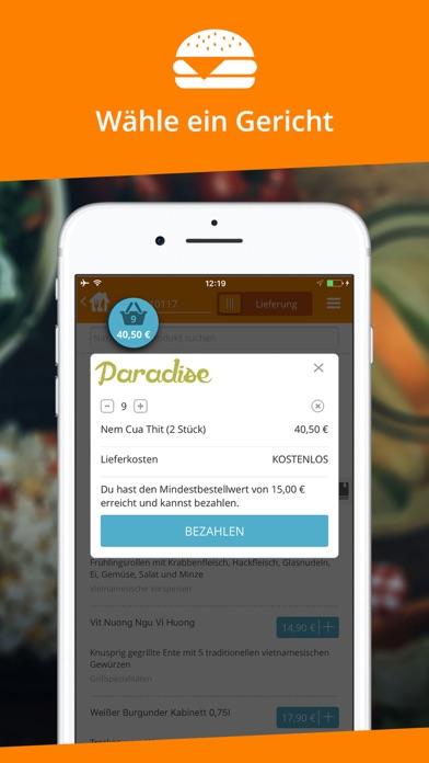 Screenshot for Lieferando.de in Germany App Store