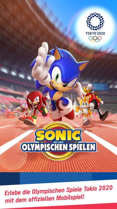 Sonic bei den Olympischen ...Screenshot von 1