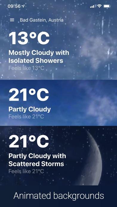 Weather ℉ Screenshot