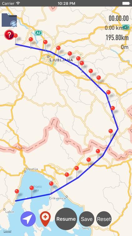 GPX Viewer-Converter-Tracking screenshot-5