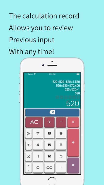 PalmCal - Quick Calculator screenshot-4