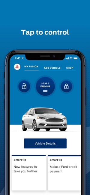 My Ford Credit >> Fordpass On The App Store