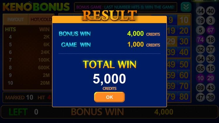 Keno Bonus : Third Eye Keno screenshot-4