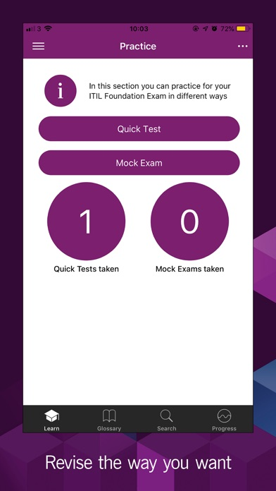 Screenshot for Official ITIL 4 Foundation App in Qatar App Store