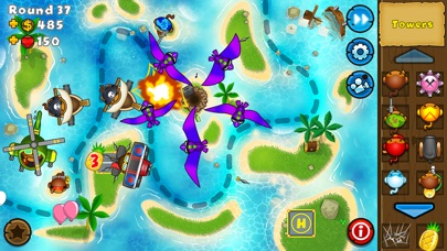 Screenshot for Bloons TD 5 in Australia App Store