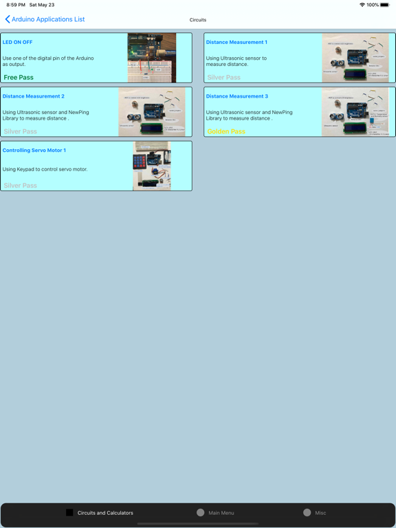Screenshot #5 pour Electronics Circuit Calculator
