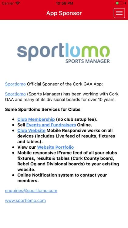 Cork GAA screenshot-8