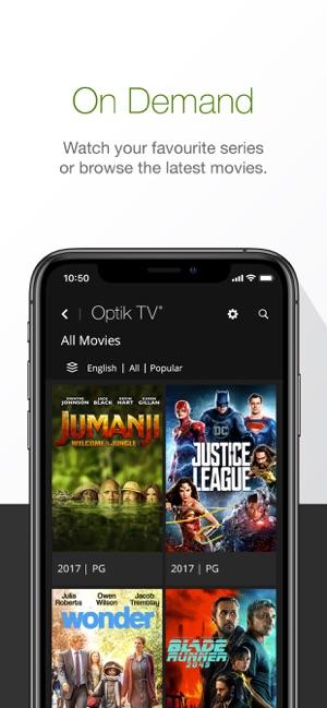 Optik TV® on the App Store
