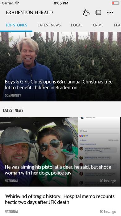 Bradenton Herald News Screenshot