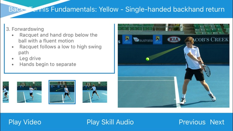 Tennis Australia Technique App screenshot-4