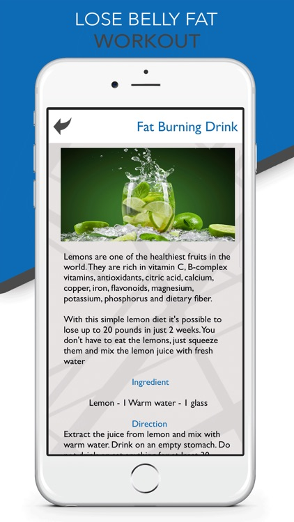 How to Lose Belly Fat - Diet screenshot-5