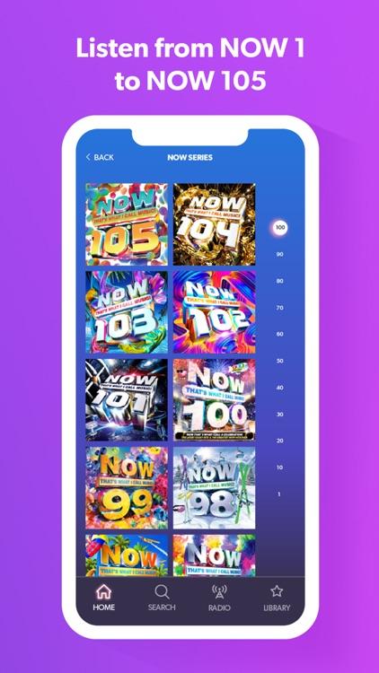 NOW Music App screenshot-4